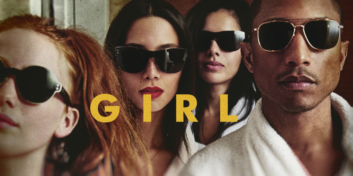 Pharrell is having fun with G I R L