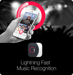 Download C1 - Lightning Fast Music Recognition on the iOS App Store!