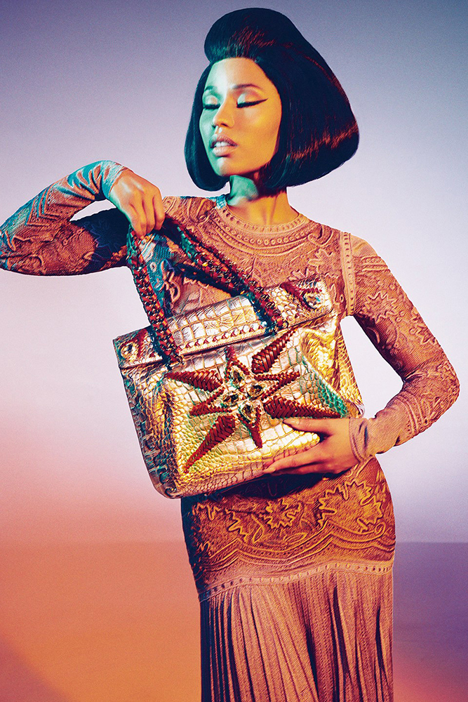 Nicki Minaj for Roberto Cavalli